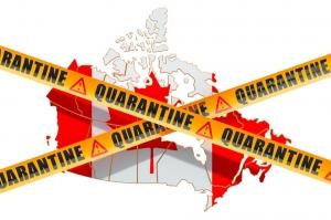 قرنطینه کانادا